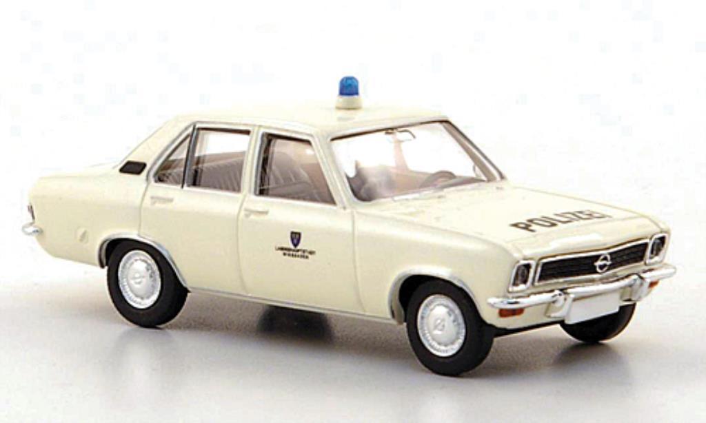 Opel Ascona A 1/87 Brekina Polizei Wiesbaden 1970 miniature