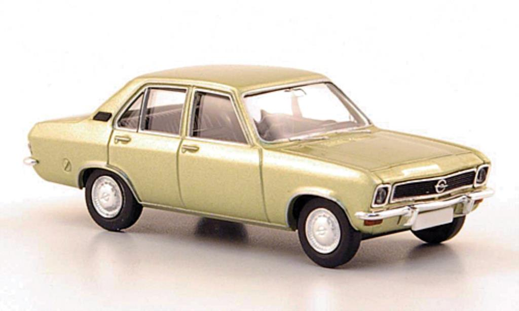 Opel Ascona A 1/87 Brekina grise-grun 1970 miniature