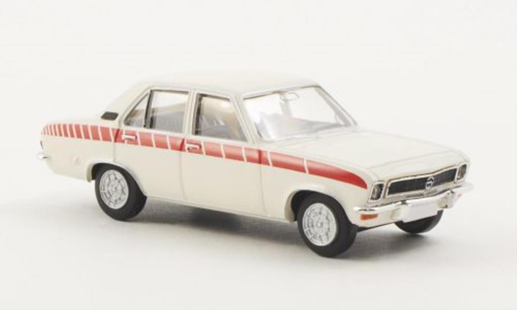 Opel Ascona A 1/87 Brekina Swinger blanche miniature