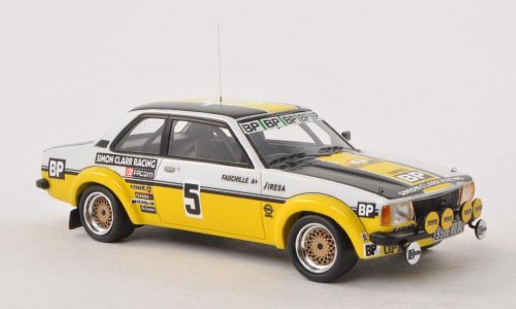 Opel Ascona B 1/43 Neo Gr.2 No.5 Simon Clarr Racing Rally Antibes 1980 miniature