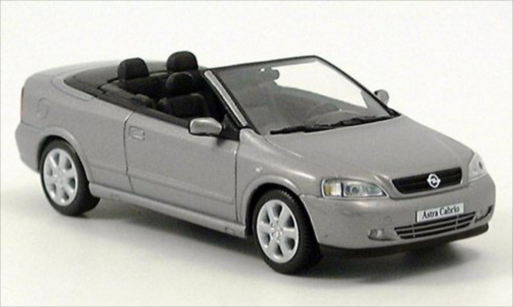 Opel Astra 1/43 Minichamps G Cabriolet gray diecast