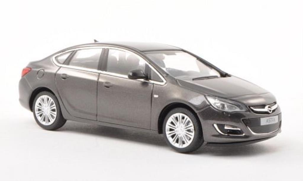 Opel Astra 1/43 Minichamps J Limousine grise 2012 miniature