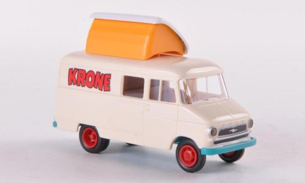 Opel Blitz 1/87 Brekina Kasten A Circus Krone diecast