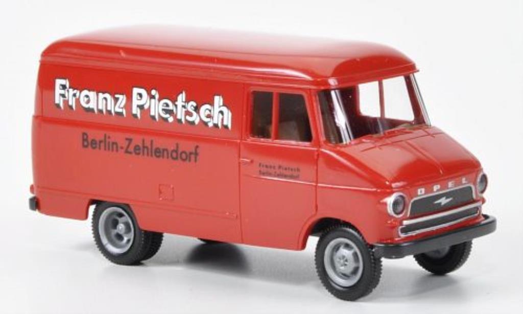 Opel Blitz 1/87 Brekina Kasten A Franz Pietsch miniature