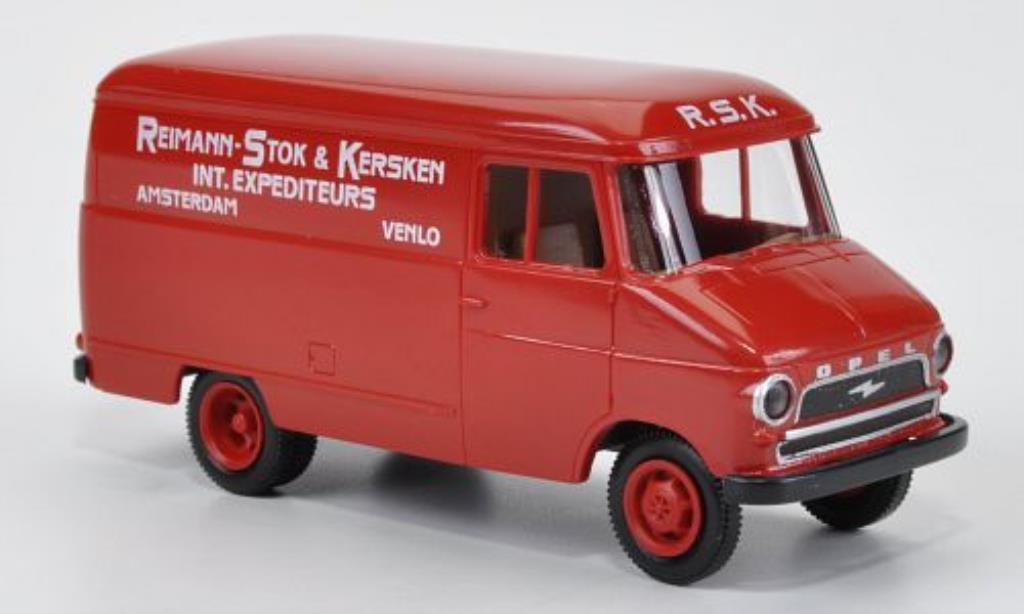 Opel Blitz 1/87 Brekina Kasten A Reimann-Stok & Kersken (NL) diecast