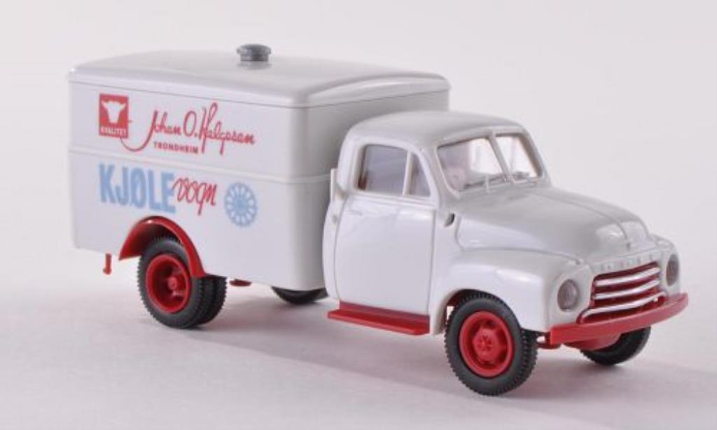 Opel Blitz 1/87 Brekina Koffer Helgesen (N) miniature