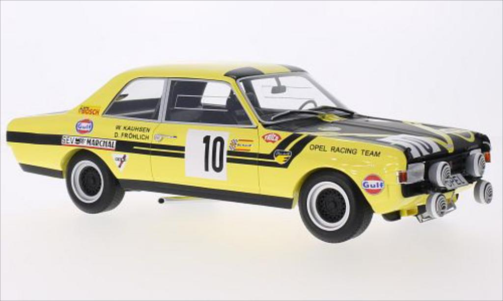 Opel Commodore A 1/18 Minichamps No.10 Opel Racing Team Steinmetz 24h Spa 1970 /D.Frohlich miniature