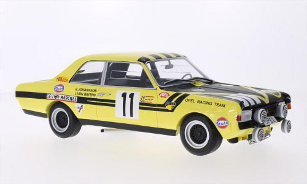 Opel Commodore A 1/18 Minichamps No.11 Steinmetz Tuning 24h Spa 1970 miniature