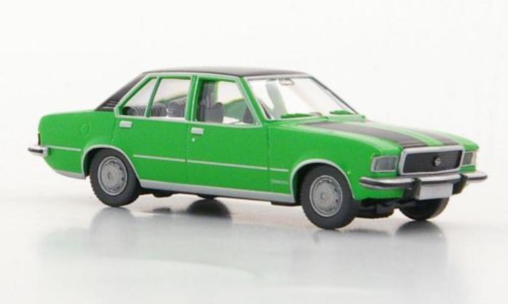 Opel Commodore B 1/87 Wiking verte/noire miniature