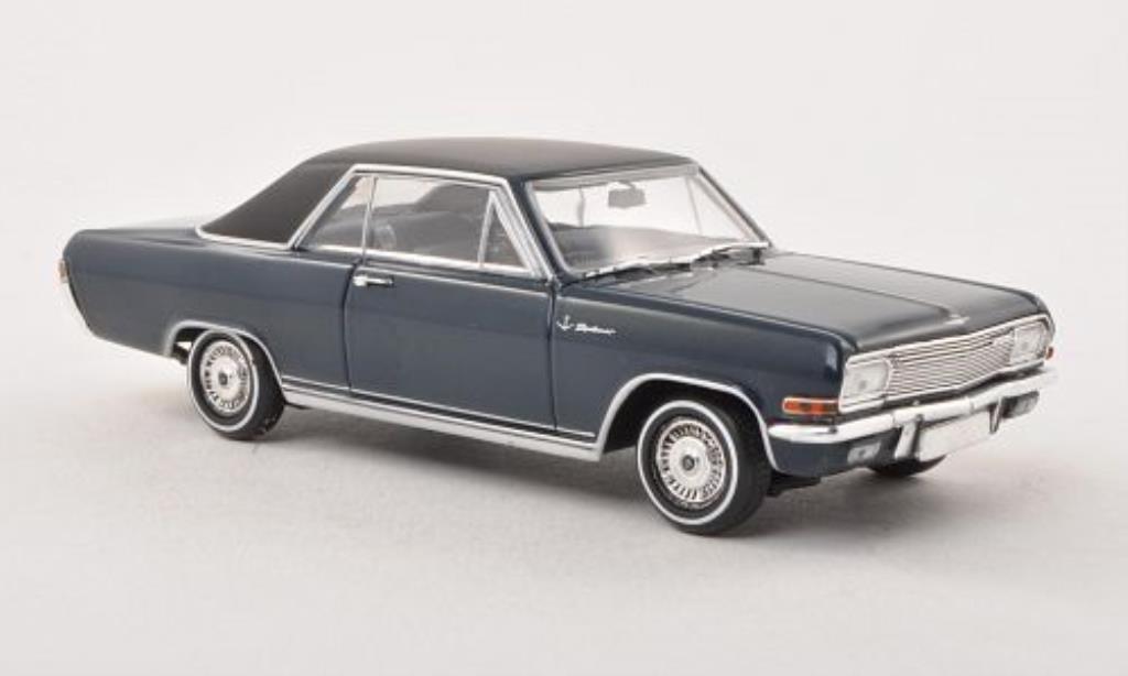 Opel Diplomat 1/43 Minichamps A V8 Coupe bleu/matt-black 1965 diecast
