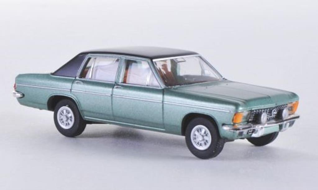 Opel Diplomat 1/87 Brekina B green/matt-black diecast