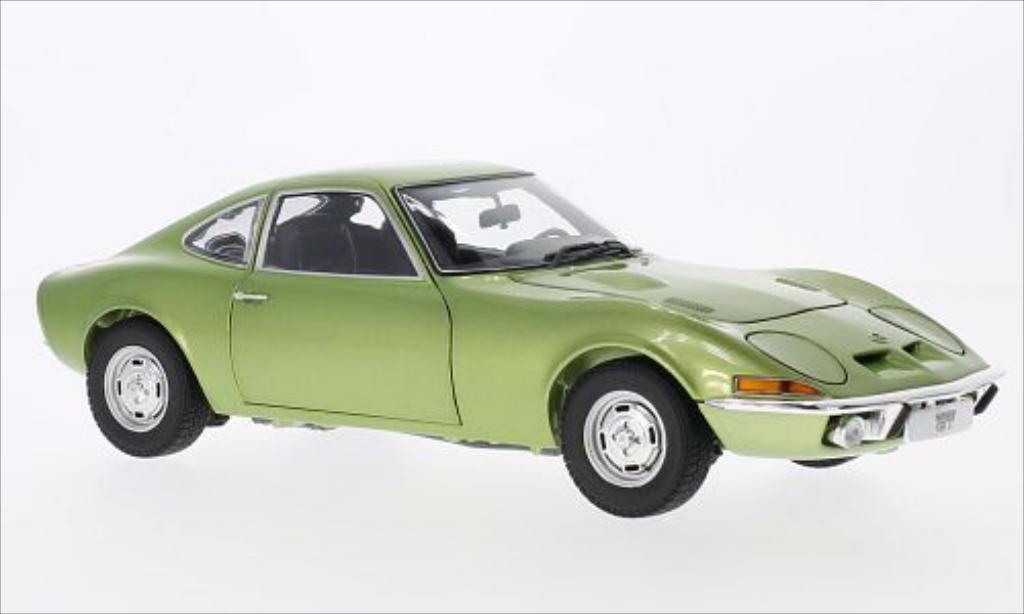 Opel GT 1/18 Minichamps metallic-verte 1969