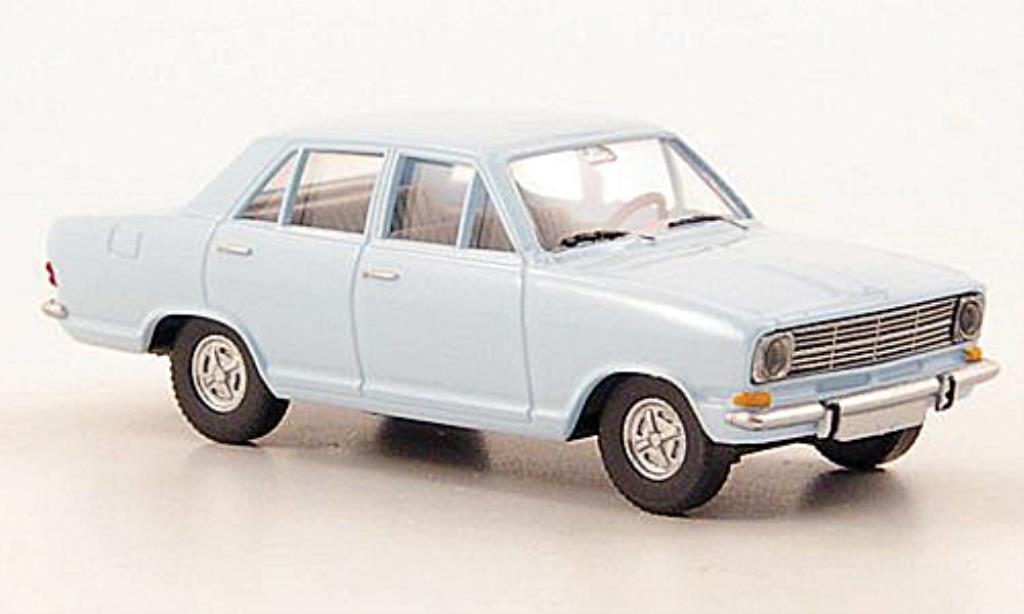 Opel Kadett B 1/87 Wiking Limousine bleu miniature