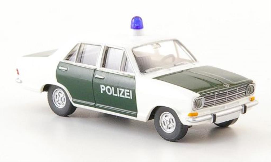 Opel Kadett B 1/87 Wiking Limousine Polizei miniature