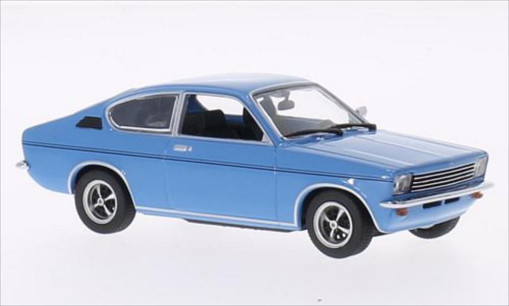 Opel Kadett C 1/43 Minichamps Coupe bleu 1973 miniature