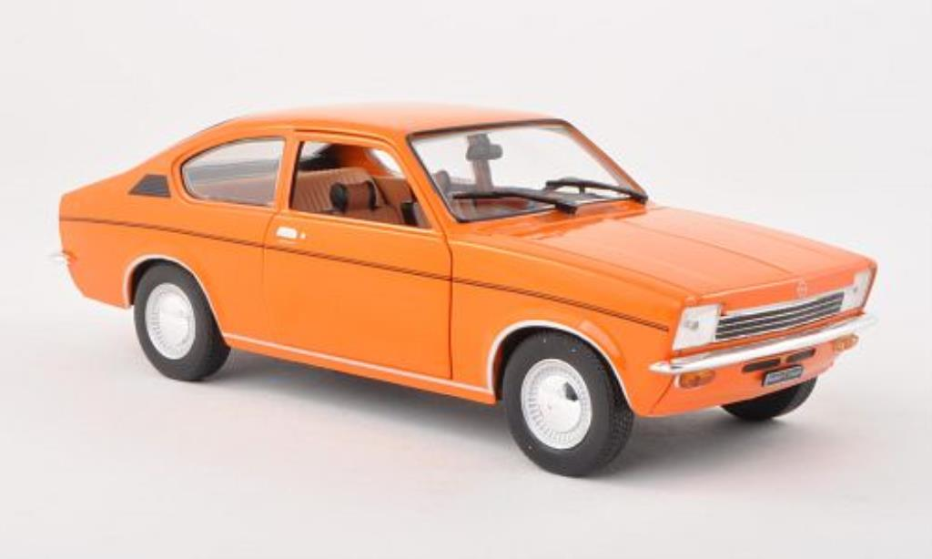 Opel Kadett C 1/24 WhiteBox Coupe orange 1973 miniature