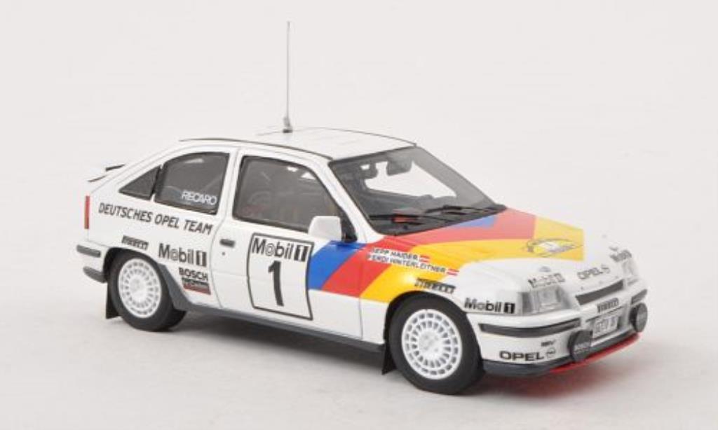 Opel Kadett E 1/43 Minichamps GSI 16V No.1 Deutsches Opel Team ADAC Rally Hessen 1989 /F.Hinterleitner miniature