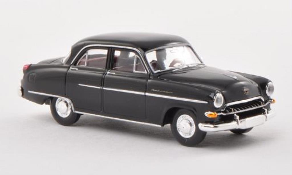 Opel Kapitan 1/87 Brekina 1954 noire miniature