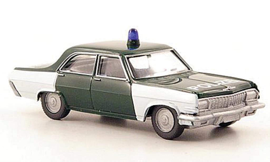 Opel Kapitan 1/87 Wiking A Polizei miniature