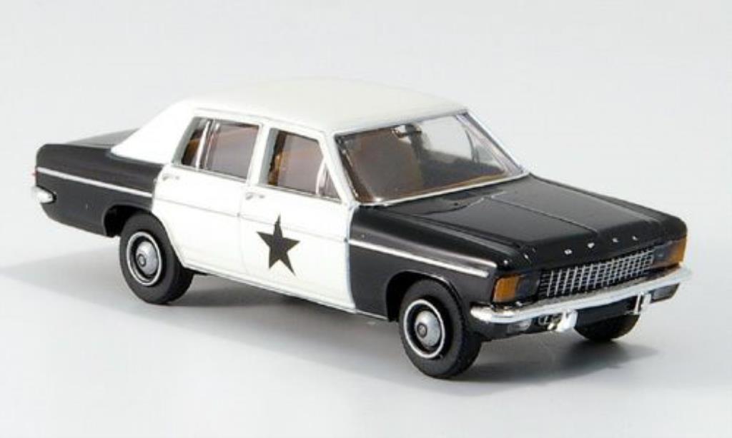 Opel Kapitan 1/87 Brekina B Blues Mobil TD miniature