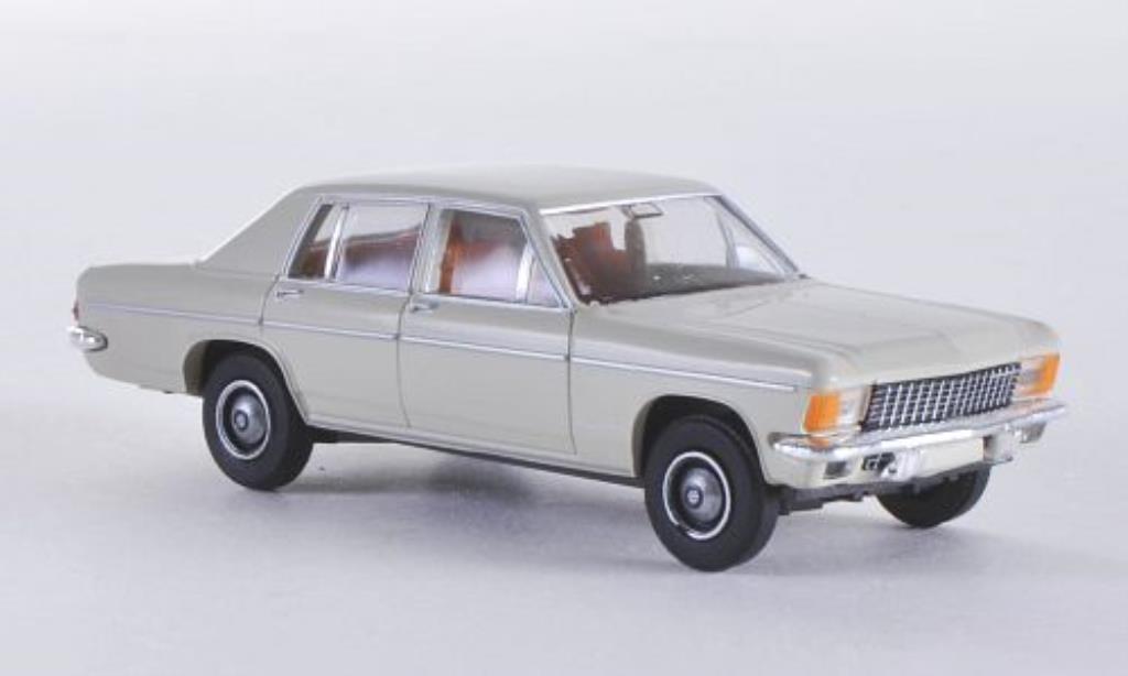 Opel Kapitan 1/87 Brekina B grise miniature