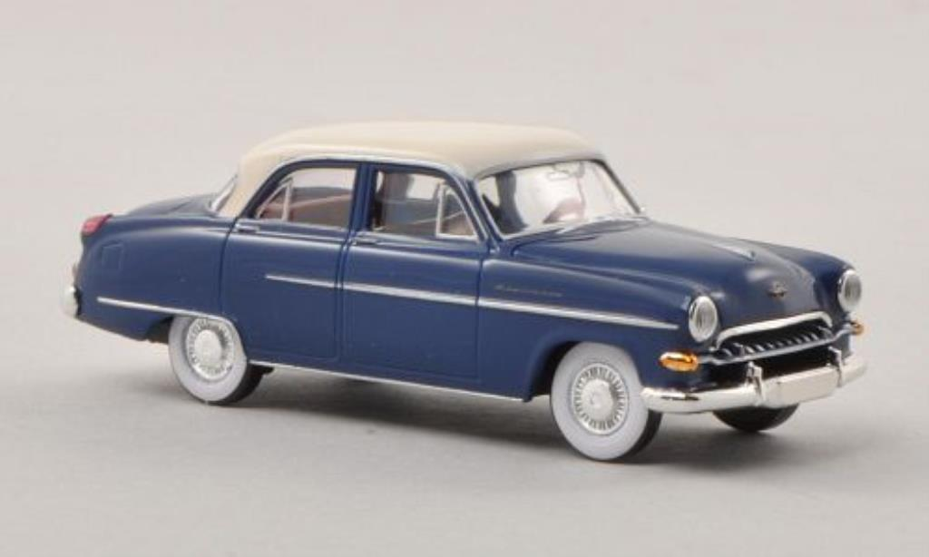 Opel Kapitan 1/87 Brekina bleu/beige 1954 miniature