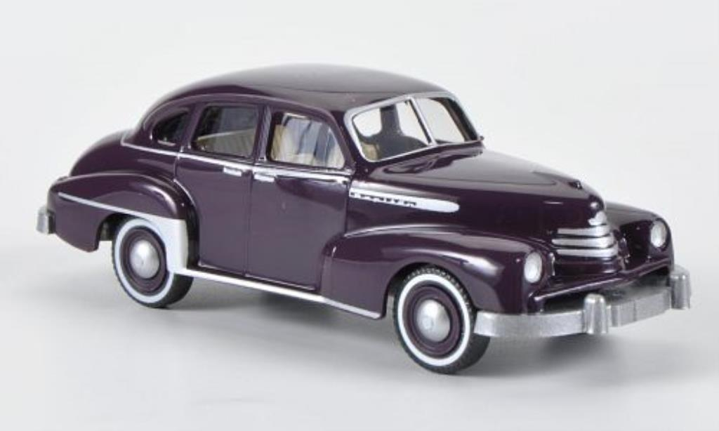 Opel Kapitan 1/87 Wiking lila 1951 miniature