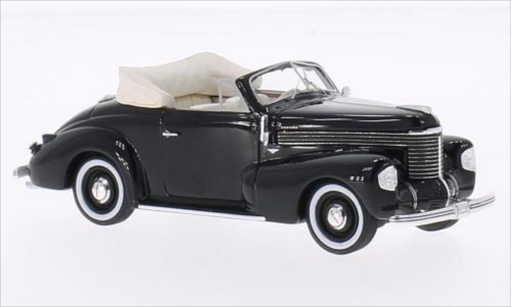 Opel Kapitan 1/43 Neo Hebmuller Cabriolet noire 1940 miniature