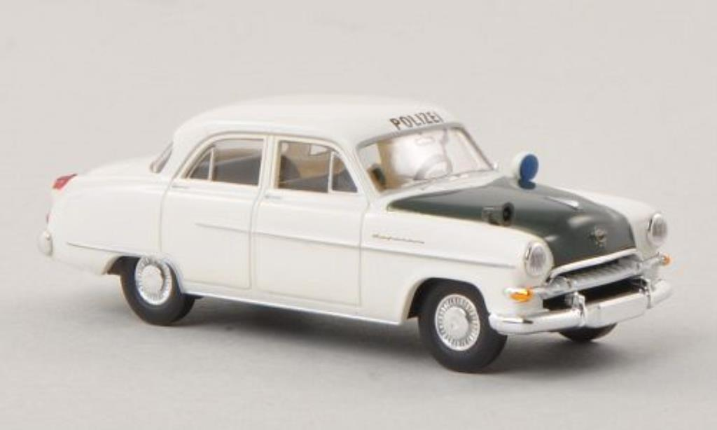Opel Kapitan 1/87 Brekina Polizei NRW 1954 miniature