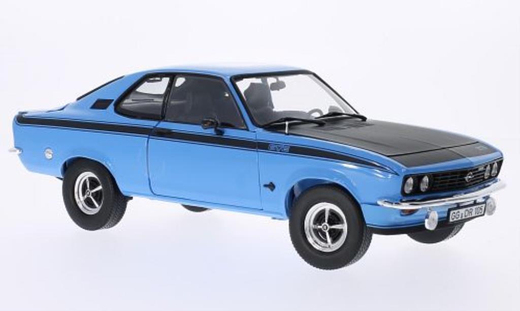 Opel Manta A 1/18 Norev A GT/E bleu 1975