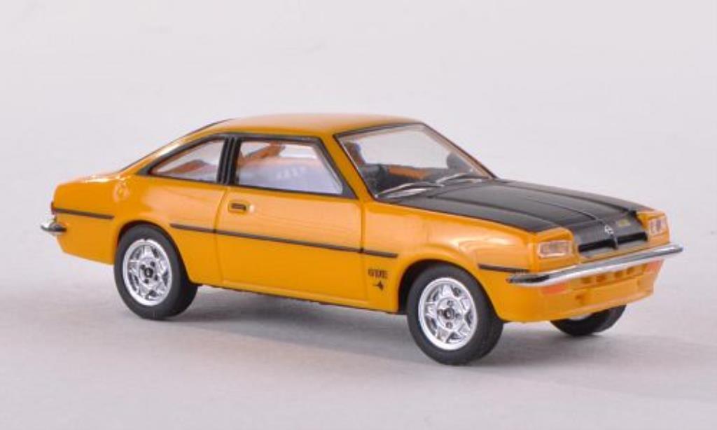 Opel Manta B 1/87 Herpa jaune/noire miniature