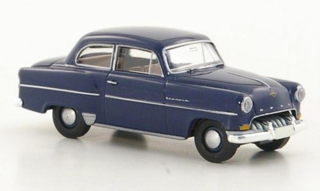 Opel Olympia 1/87 Brekina Rekord bleu miniature