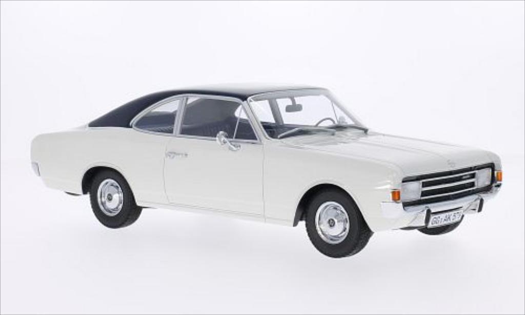 Opel Rekord 1/18 Minichamps C 1700 L Coupe blanche/bleu 1966 miniature