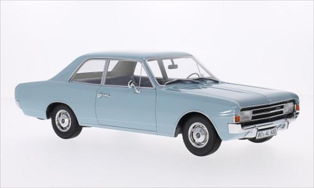Opel Rekord 1/18 Minichamps C 1900 L Limousine bleu 1966
