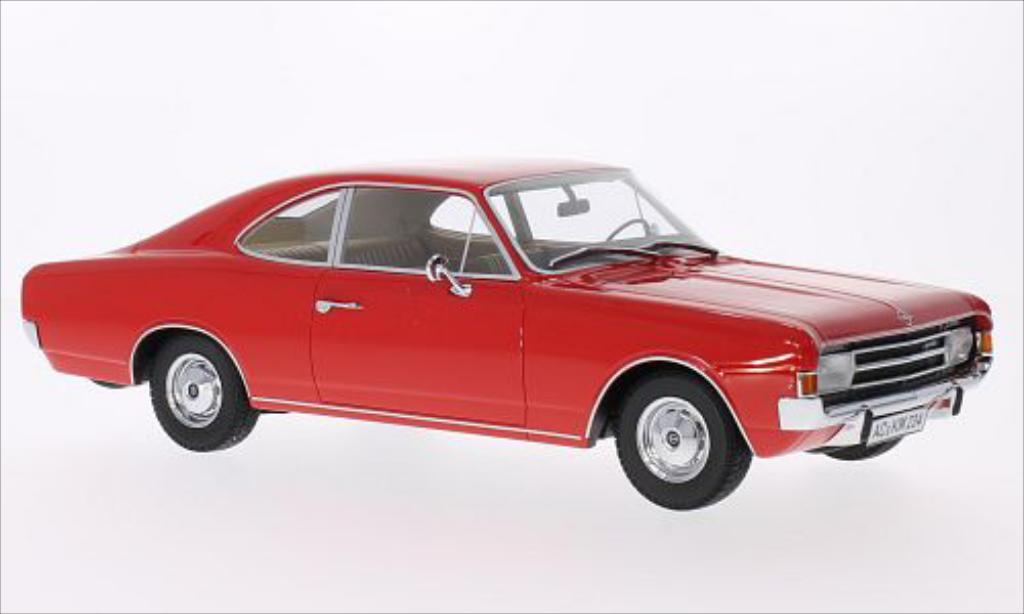Opel Rekord 1/18 Minichamps C Coupe red 1966 diecast