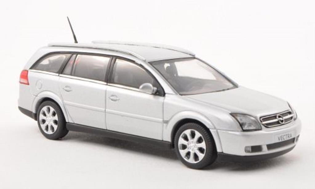 Opel Vectra 1/43 Schuco C Caravan grise miniature