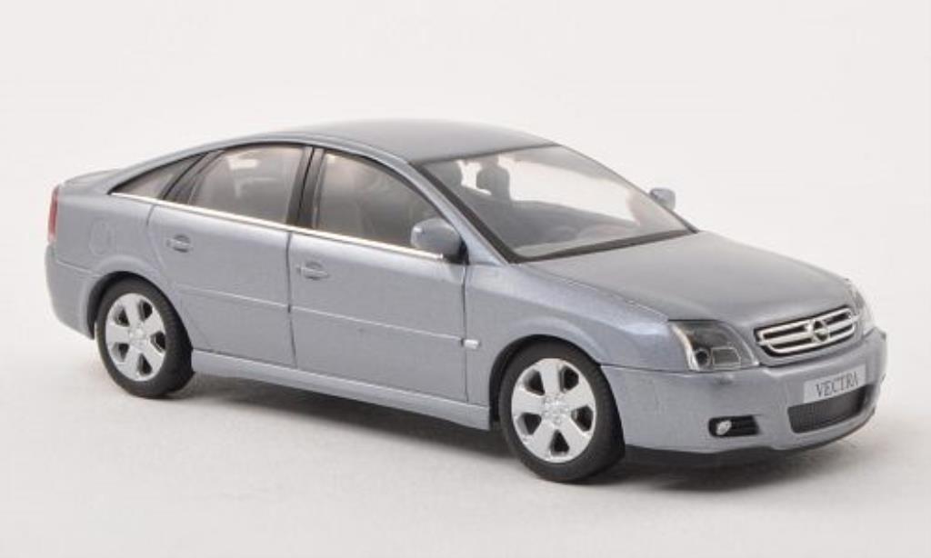 Opel Vectra 1/43 Schuco C GTS bleu-grise Fliessheck