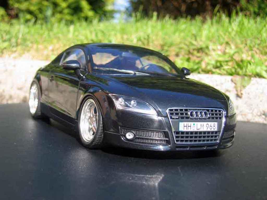 Audi TT coupe 1/18 Minichamps quattro 3.2 jantes porsche miniatura