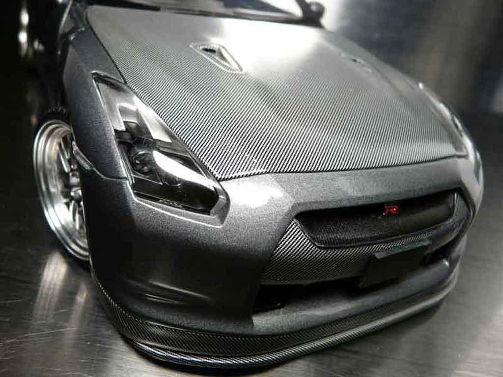 Nissan Skyline R35 1/18 Autoart carbone diecast model cars