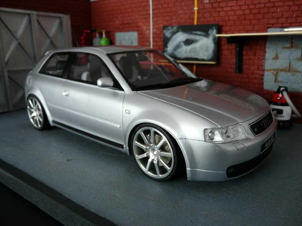 Audi S3 1/18 Ottomobile grise jantes MTM