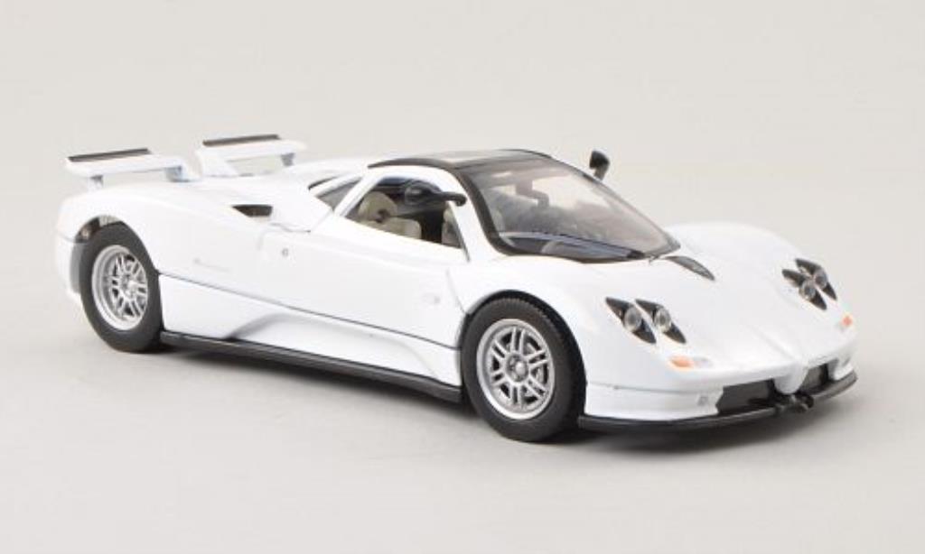Pagani Zonda C12 1/24 Motormax weiss modellautos