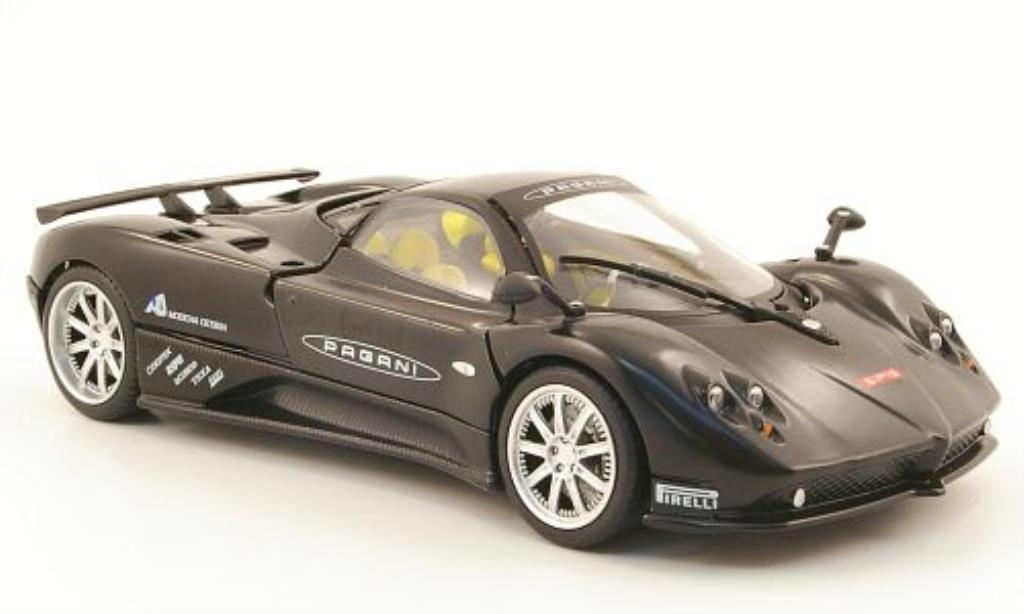 Pagani Zonda F 1/24 Motormax Nurburgring noire miniature