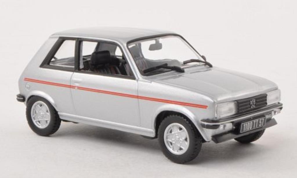 Peugeot 104 1/43 Norev ZS grise 1979 miniature