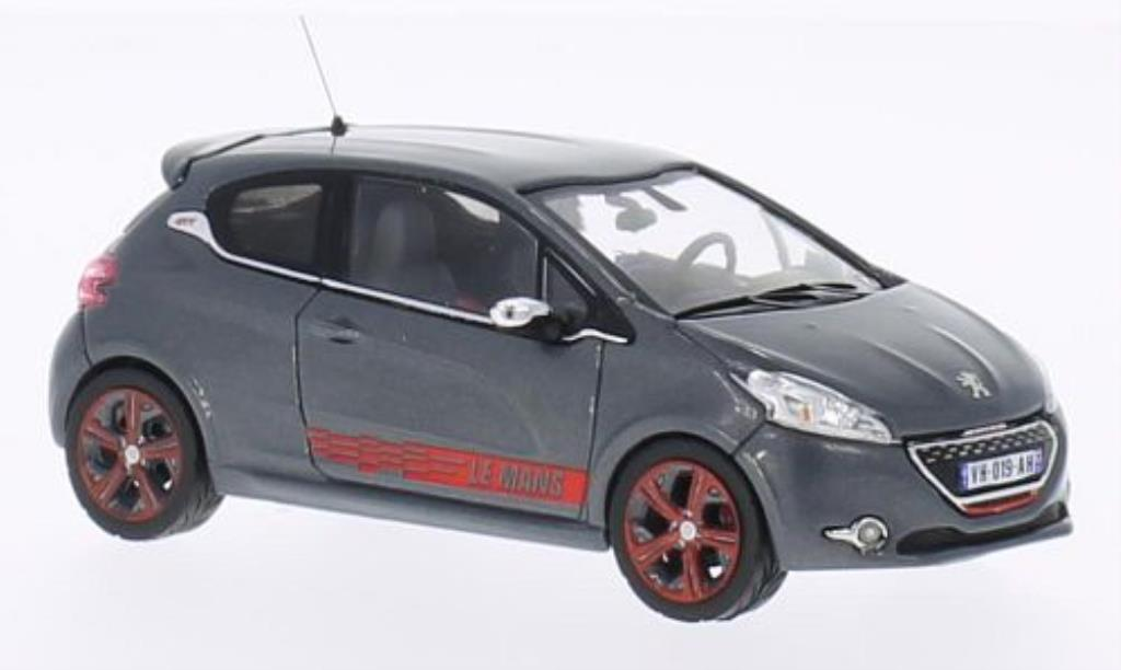 Peugeot 208 GTI 1/43 IXO Le Mans Edition grey 2013 diecast model cars