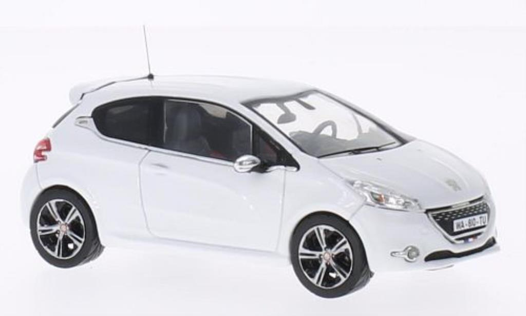 Peugeot 208 GTI 1/43 IXO Le Mans Edition white 2013 diecast model cars