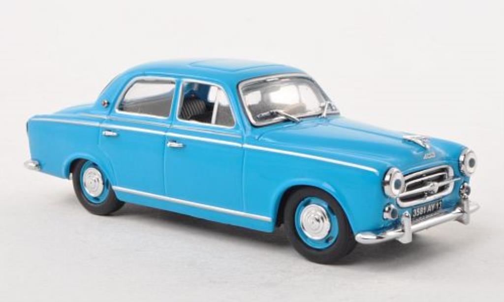 Peugeot 403 Berline 1/43 Vitesse bleu 1957 miniature