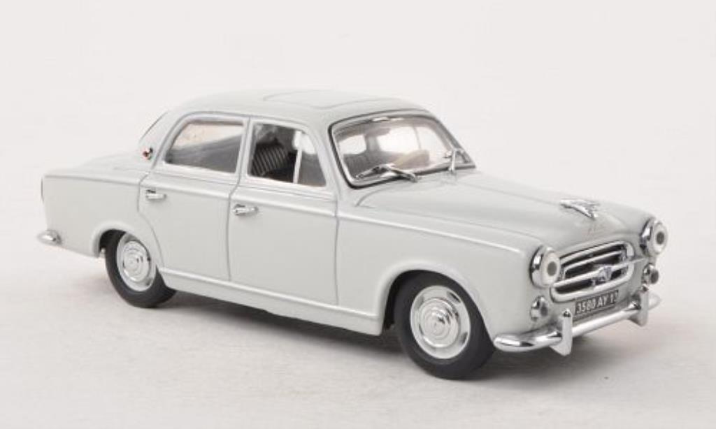 Peugeot 403 Berline 1/43 Vitesse grise 1957 miniature