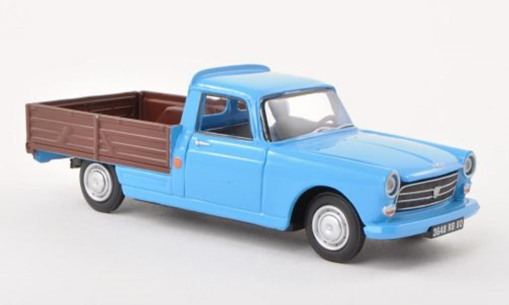 Peugeot 404 Pick up 1/43 Eligor bleu/marron miniature