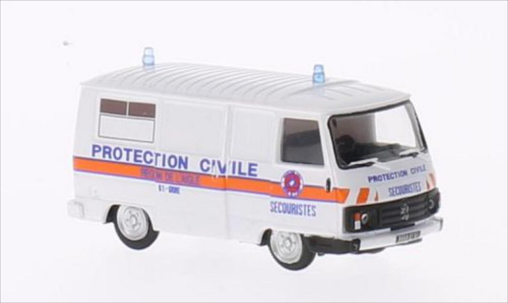Peugeot J9 1/87 Norev Prougeection Civile 1987