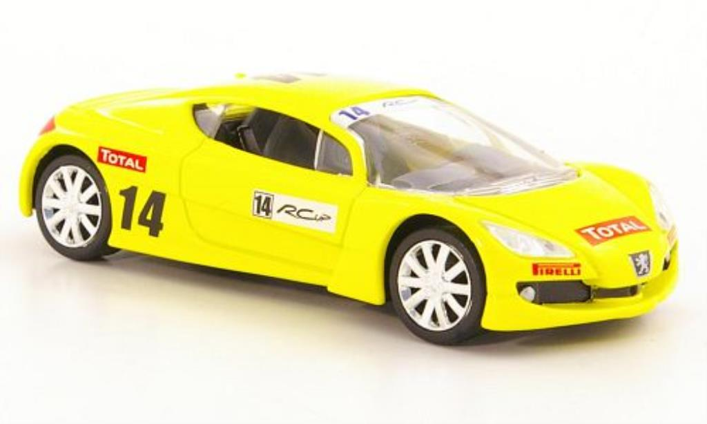 Peugeot RC 1/43 Norev Concept No.14 RC Cup miniatura